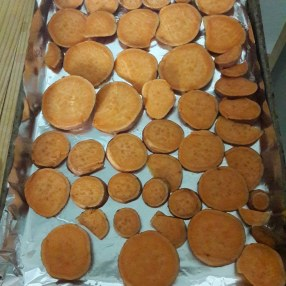 Sweet potatoes make a great snack!